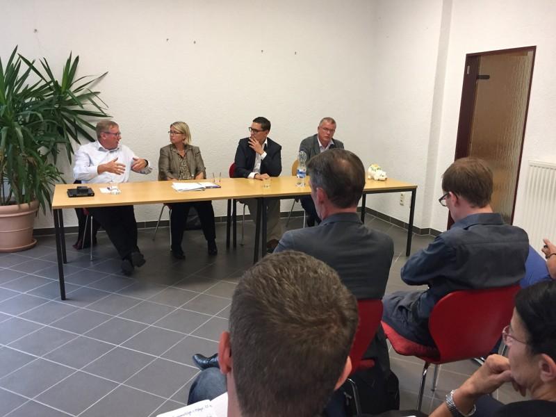 Podium SPD Bürgerbüro