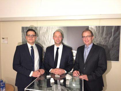 Dr. Roger Stöcker, Arne Lietz, Markus Bauer